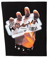 Judas Priest  British Steel Rückenaufnäher Backpatch Lizenzware Nordrhein-Westfalen - Gescher Vorschau
