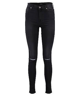 "7 for all mankind Damen Jeans ""Super High Waist Skinny"" Skinny Fit"