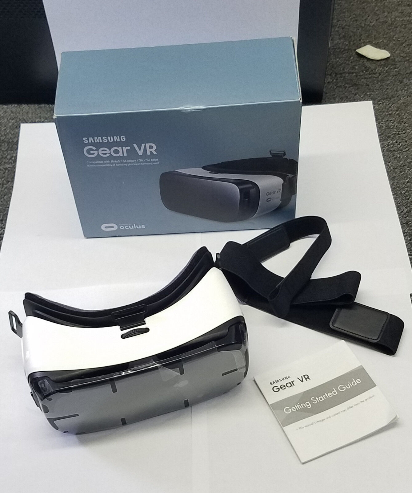 Samsung Gear VR Oculus Virtual Reality Headset 3D Note 5 Galaxy S6, S6 Edge S7