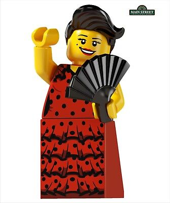 New LEGO Minifigures Series 6 8827 Flamenco Dancer