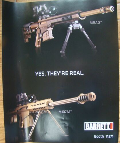 "Barrett Firearms ""Yes They"
