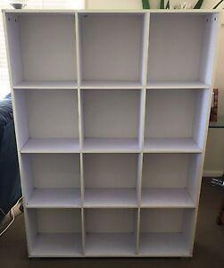 White Bookshelf Belmont Lake Macquarie Area Preview