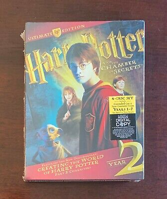 Harry Potter and the Chamber of Secrets - Ultimate Edition DVDs - New & Sealed