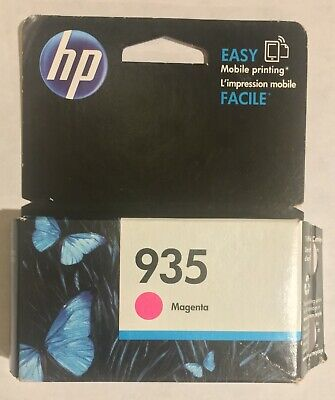 HP Genuine 935 Magenta Single Ink Cartridge New Sealed EXP 2019