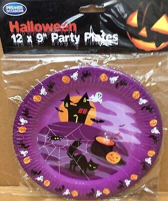 pooky Cake -Dessert Paper Party Plates free UK PP (Halloween Desserts Uk)