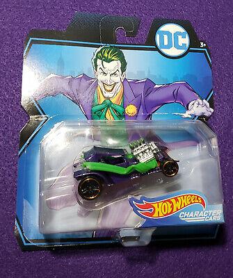 2017 Hot Wheels Character Cars DC The Joker Hot Rod Diecast 1:64 NEW