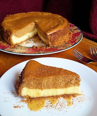 Pumpkin Chai Cheesecake.