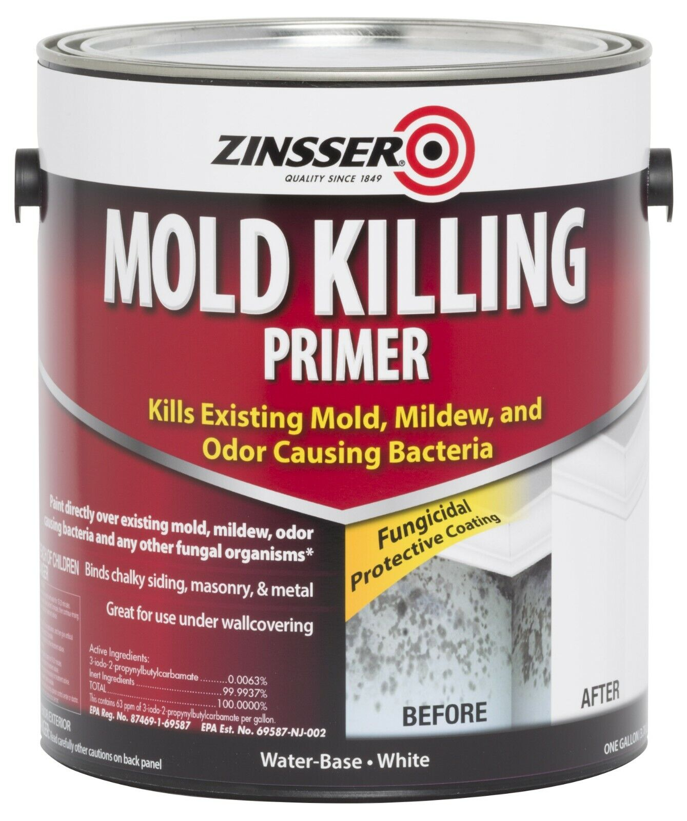 Zinsser 276049 1 Gallon Mold Killing Primer Building & Hardware