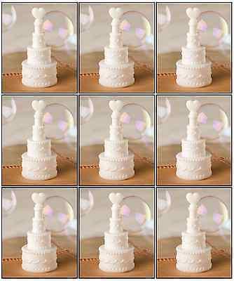60 X Blanco Boda Corazón Pastel Burbujas Decoración Mesa Recepción Detalles