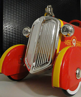 Metal Pedal Engine (Ford Fire Engine Pedal Car Antique Truck Vintage Metal Collector)