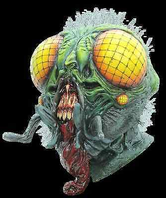 NEW 1950s Sci Fi Horror Monster Insect Mutation DELUXE ADULT LATEX THE FLY MASK