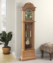 Alcott Hill Traditional 72 Floor Standing Grandfather Clock