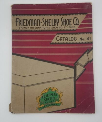1938-39 Friedman Shelby Shoe Co Color Catalog, approx 125 pages