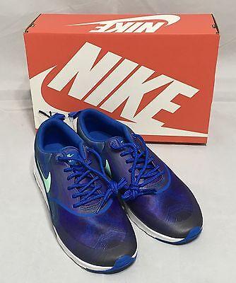 Nike Air Max Thea Print Women Shoes 599408 405 Blue Sz 7.5 8 8.5 9 9.5 10