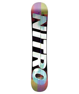 Nitro Snowboard GOOD TIMES WIDE'18 Unisex