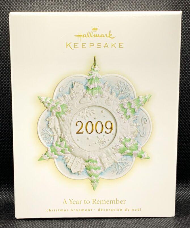 Hallmark Keepsake A Year To Remember Ornament 2009 NEW