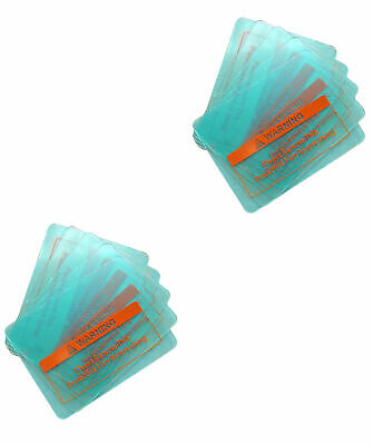 10 Pcs 4-12x3-12 New Lens Clear Cover Splash Guard For Some Welding Helmets