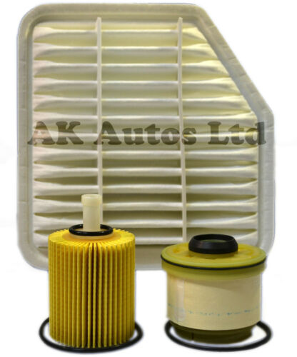 LEXUS IS220D 2.2 D 2005>On 3PC SERVICE KIT OIL AIR & FUEL FILTER