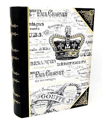 Punch Studio Decorative Nesting Book Box Royal Crown 60664 Large