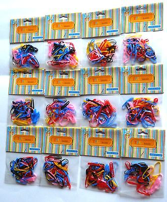 ACCESSORY 12 PACK LARGE TPU HAIRBAND/BOBBLE FOR BRAIDS & PLAITS
