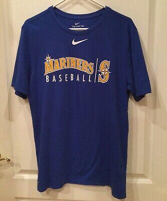Seattle Mariners Baseball (Seattle Mariners Nike Dri-Fit Baseball T-Shirt)