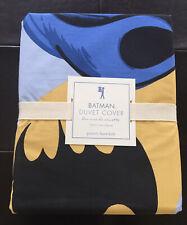 Pottery Barn Kids Batman Dc Comics Vintage Twin Duvet