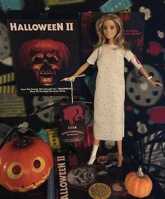 SALE! Laurie Strode CUSTOM HORROR DOLL Halloween 2 OOAK - Laurie Strode Halloween 2