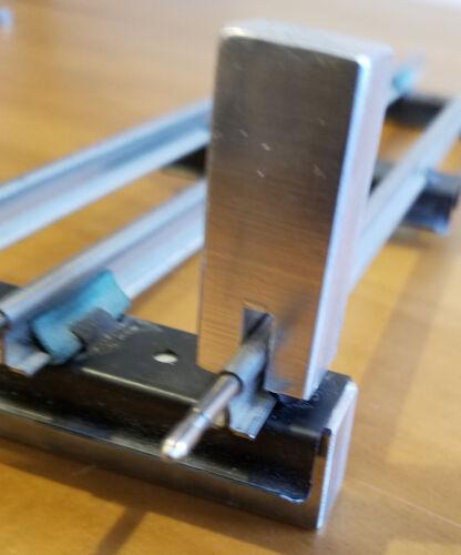 PE Design - Standard gauge - Track Tie Punch