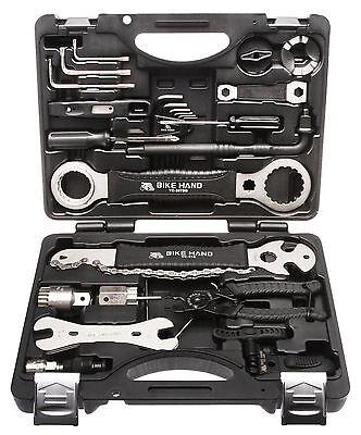 30 tlg. Fahrrad Werkzeugsatz Reparatur Service Rad Werkzeugkoffer Set Radsport
