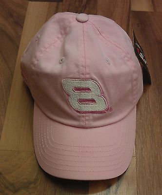 Mark Martin Pink Womens Nascar Baseball Cap Hat Adjustable Size Official -