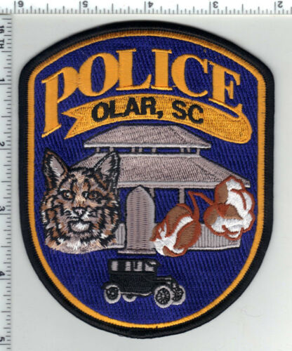 Olar Police (South Carolina) 2nd Issue Shoulder Patch