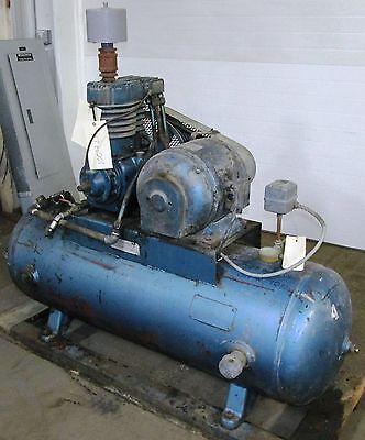 Air Compressor 5 HP 331TVA 80 Gallon Tank 3 Phase 5-1B2-H80 1004LR