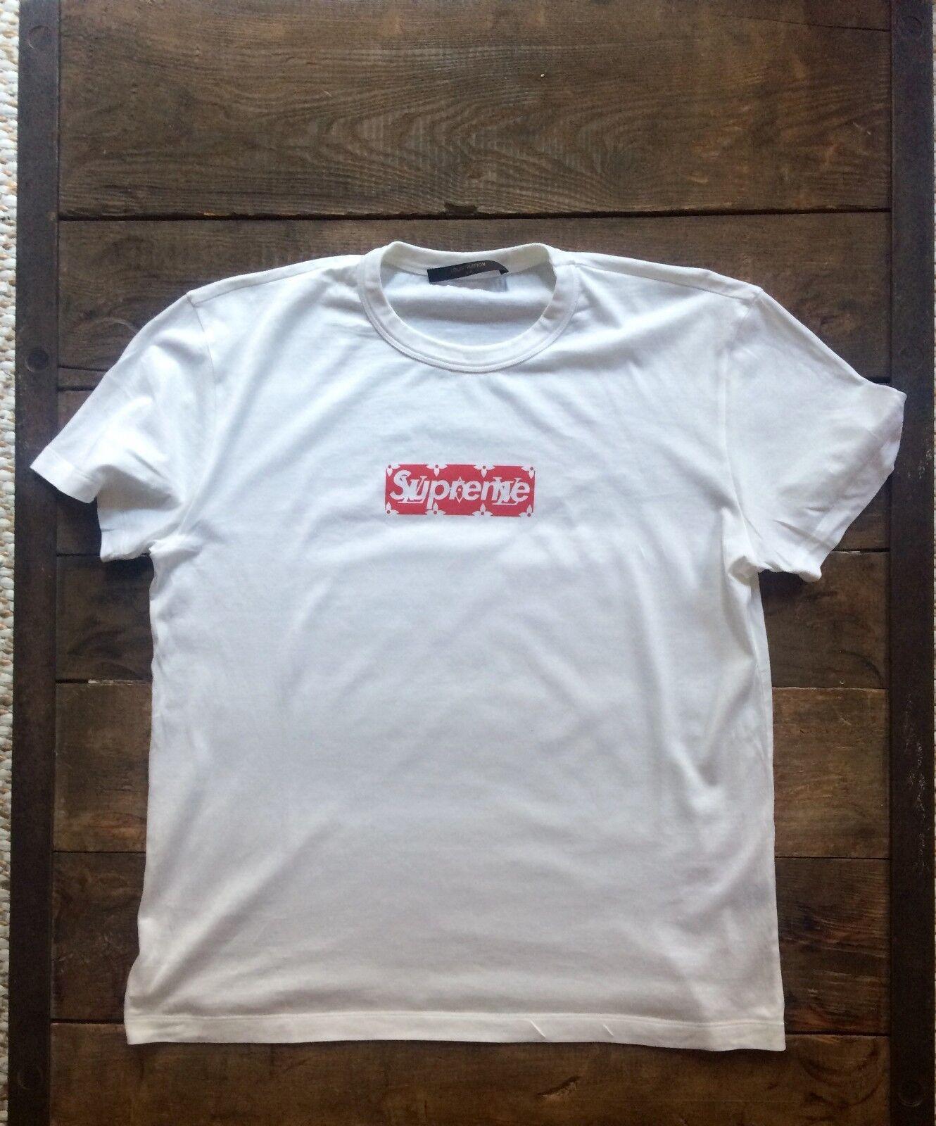 T shirt supreme x louis vuitton