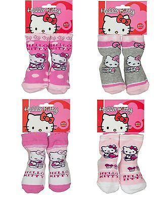 Sanrio Hello Kitty Baby Socken Strümpfe Gr. 0-6 Monate 6-12 (Hello Kitty Socken)