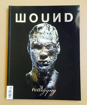 RARE SPRING 2008 UK WOUND #2 FASHION MAG ANDROGYNY ISSUE Andy Warhol DAVID BOWIE