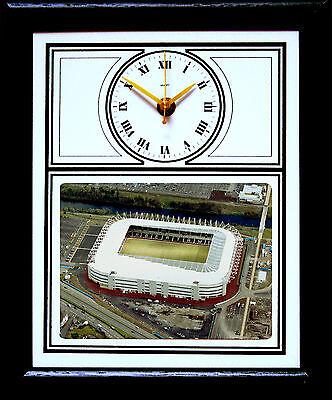 Football Clock Swansea City Liberty Stadium Aerial Phot