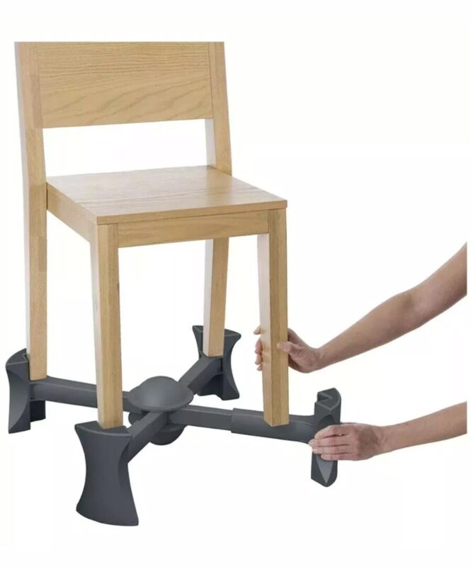 Kaboost Portable Chair Booster Chocolate 2 Heights