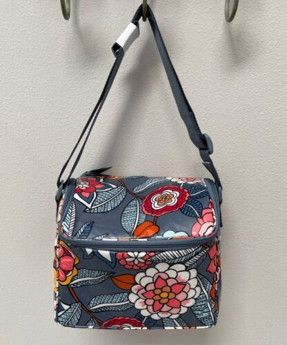 Vera Bradley Stay Cooler Insulated Lunch Bag Cooler Tropical Evening - $45 MSRP