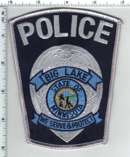 Big Lake Police (Minnesota)  Shoulder Patch  - new from the 1980