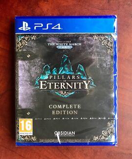 Ps4 Pillars Of Eternity Complete Edition +UNUSED DLC $55 or Swap/Trade