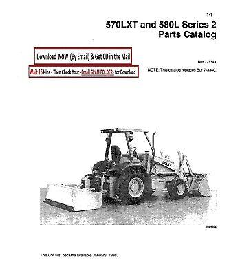 Case 570lxt And 580l Series 2 Backhoe Loader Service Parts Manual