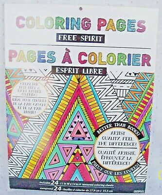 COLORING PAGES FREE SPIRIT 24 PAGES 14