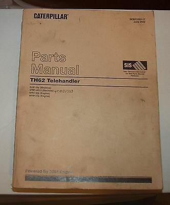 Caterpillar Th62 Telehandler Parts Manual June 2002
