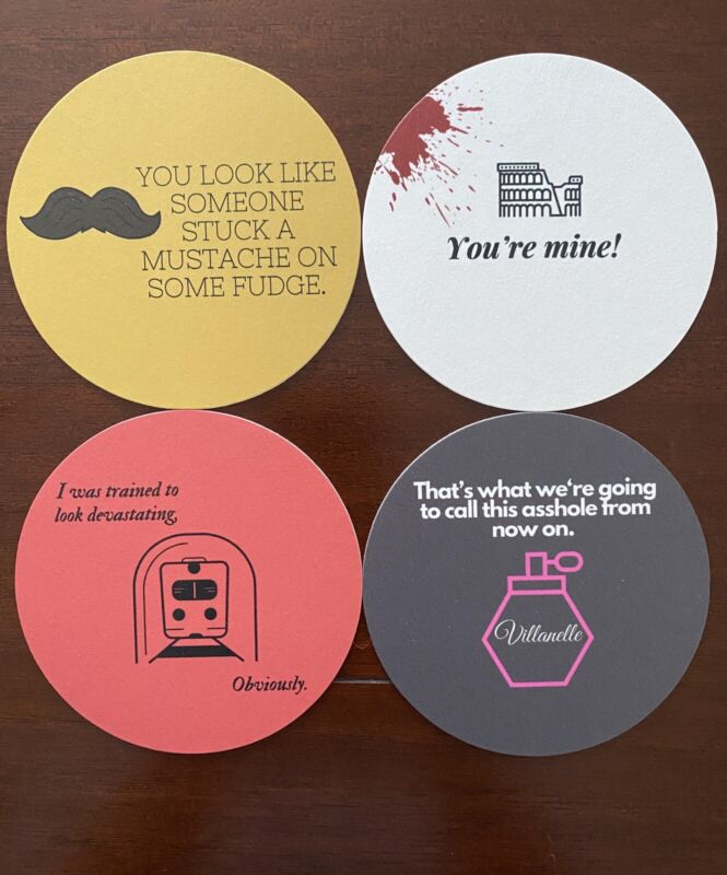 Killing Eve Coasters