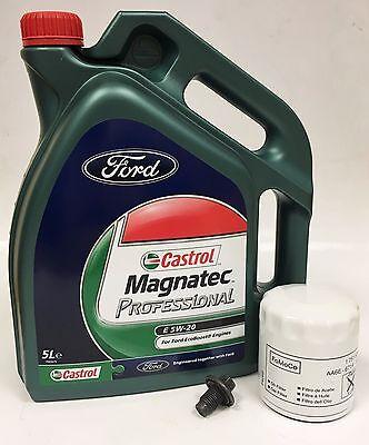 GENUINE FORD 1.0L Ecoboost Oil Filter Fiesta B C Max Ecosport  5L Oil  5W20 FORD