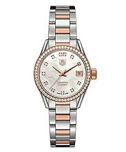 Real TAG two tone diamond and gold ladies watch Balcatta Stirling Area Preview