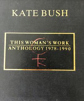 Kate Bush Anthology CD's