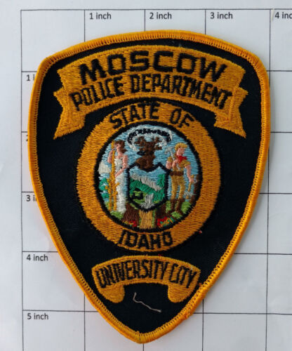 Moscow Police Department (Idaho) patch