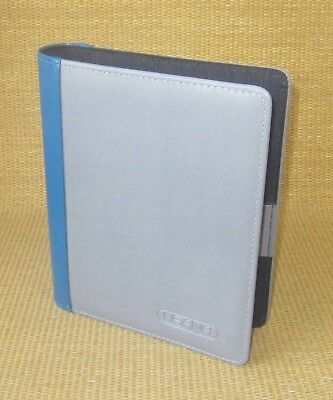 Classicdesk 1.5 Bluegray Sim. Leather Day-timer Usana Open Plannerbinder