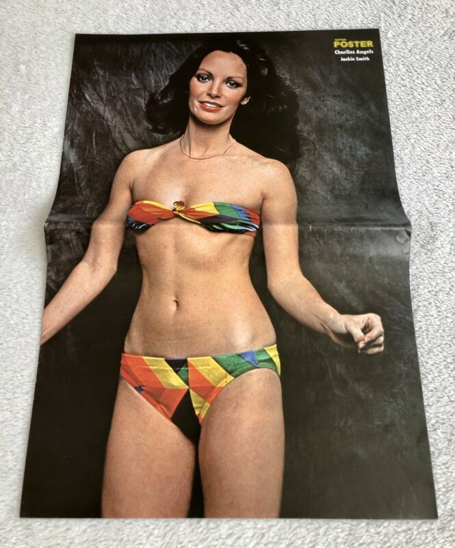 Jackie Smith 1979 Charlies Angels - German Super Poster Magazine 1970s Vintage